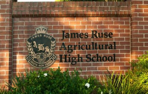 #1 Selective high school, James Ruse Agricultural High School.