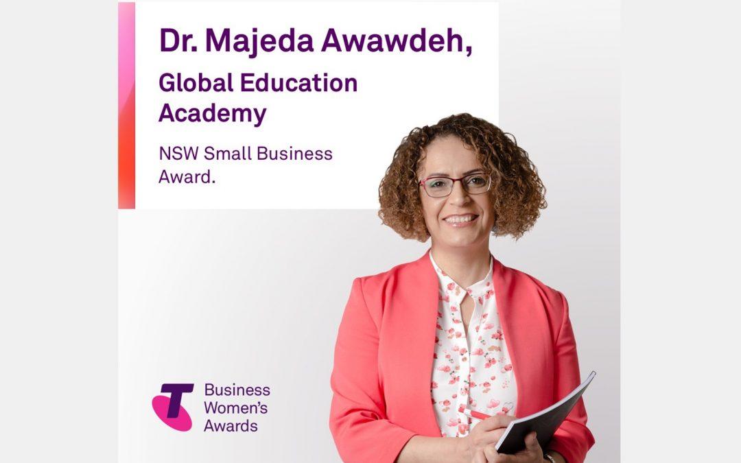 Dr Majeda Awawdeh – WINNER – 2020 Telstra Business Women's Awards