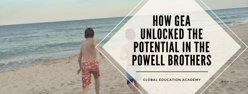 How Global Education Academy unlocked the potential in the Powell brothers